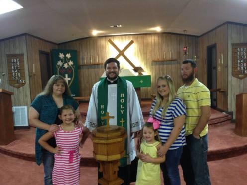 Baptism of Sophia B. - 8/3/14