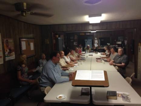 Adult Bible Class - 8/3/14