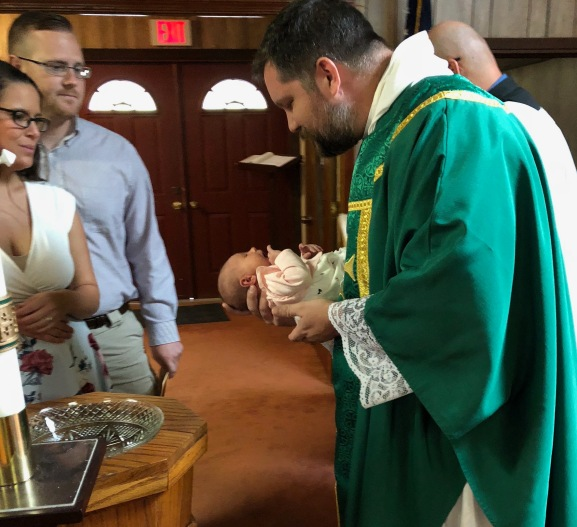 Baptism of Jane Claire